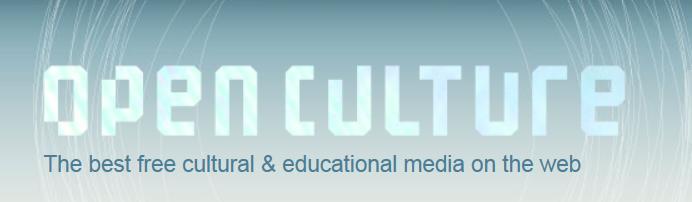 Website of the Week: Open Culture