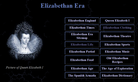 Elizabethan Era Links