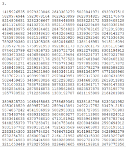 Lots of Pi