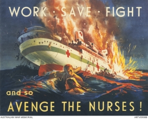Avenge the Nurses Poster from Australian War Memorial