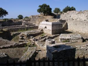 Ancient City of Troy Ruins