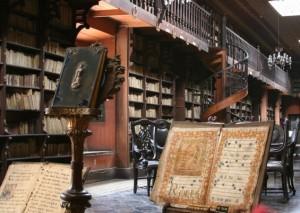 san francisco monastery library