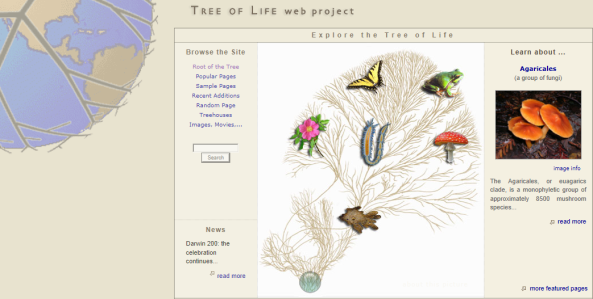 Tree of Life Project Home