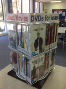 New DVDs for Loan so far in Term 1