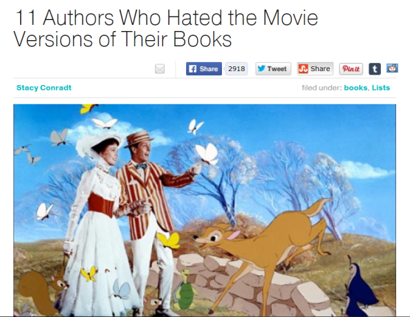 authors and movies