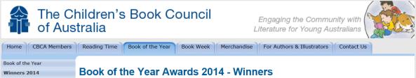 CBCA winners 2014