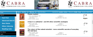 Click image for a full list of Science Related Books held in Cabra Libraries