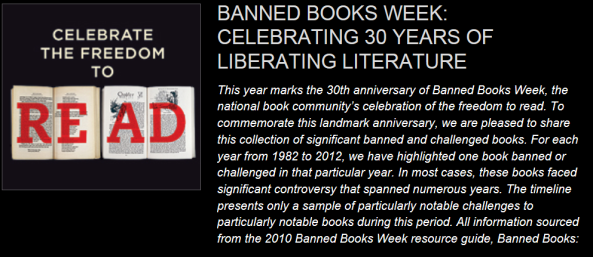 30 years of banned books timeline