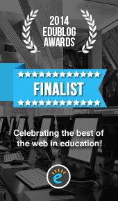Edublog Awards 2014 Finalist