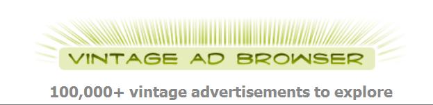 Image result for vintage ad browser website