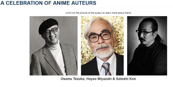 anime auteurs