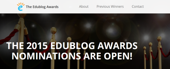 2015 edublog awards banner